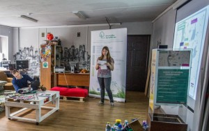 Дарья Матвеенкова о ходе реализации проекта по сбору использованных батареек для переработки.