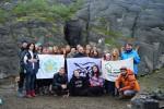 В Хибинах завершился международная эко-экспедиция «Зеленая утопия»