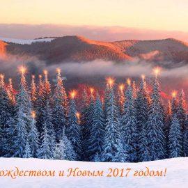 С Рождеством и Новым 2017 годом!