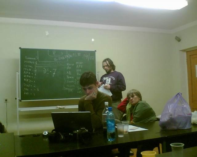 Подготовка акции в Москве 19-02-07